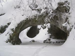 Portál jeskyně Šipka